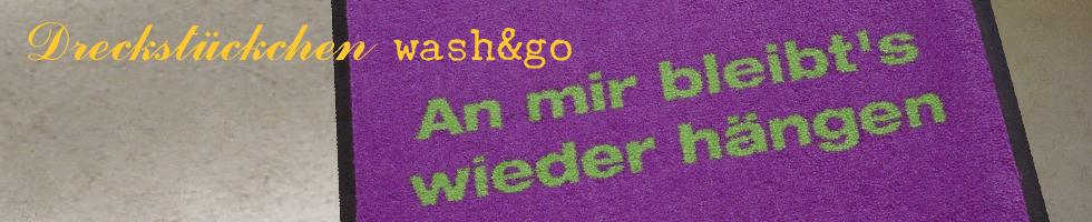 wash&go-Dreckstückchen