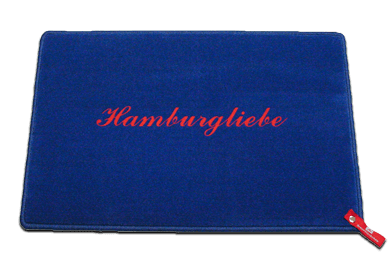 Fußmatte Hamburgliebe