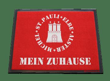 Hamburg-Fußmatte: Mein Zuhause