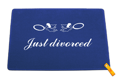 Fußmatte: Just divorced