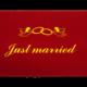 Fußmatte: Just married