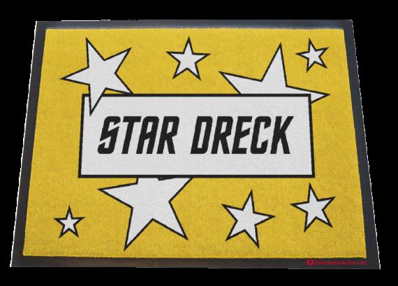 Fußmatte Star Dreck