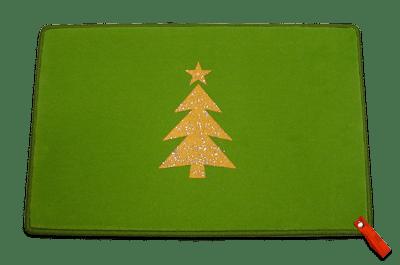 Weihnachtsbaum mit Glitter
