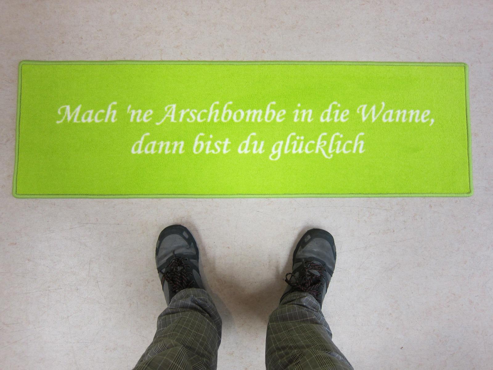 Mach 'ne Arschbombe