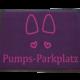 Dreckstückchen Pumps-Parkplatz