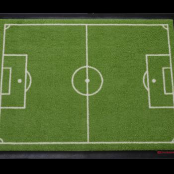 Fußmatte Fussballfeld