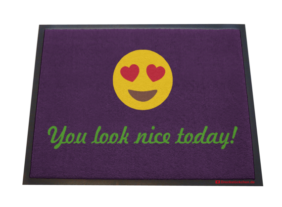 Dreckstückchen: You look nice today!