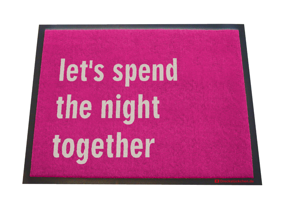 let's spend the night together