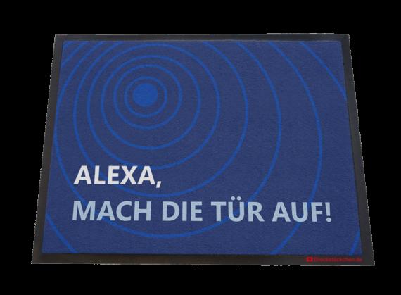 Dreckstückchen - Alexa mach die Tür auf