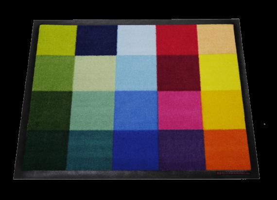 Dreckstückchen: Farbquadrate