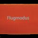 Fußmatte: Flugmodus Dreckstückchen