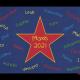 Dreckstückchen: Kindergarten Abschiedsfussmatte Stern mittig 100x70 Entwurf B