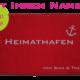 Fußmatte: Dreckstueckchen Heimathafen mit Namen styish