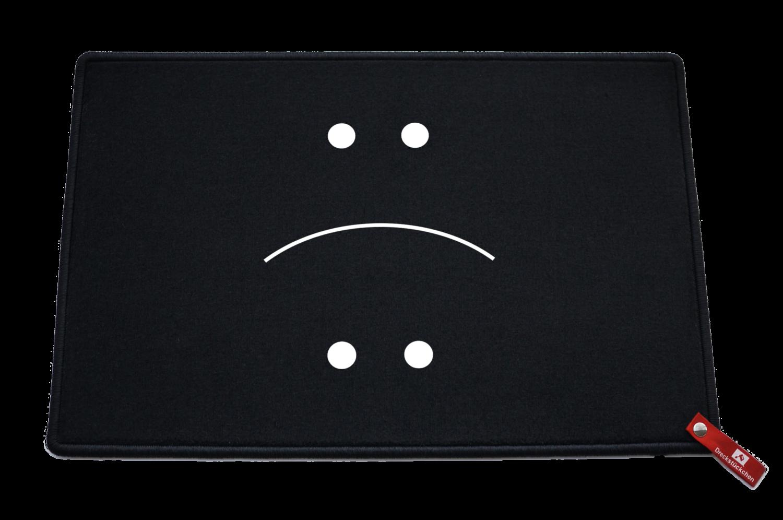 Dreckstückchen Smiley lachen traurigTRAURIG