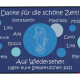 Dreckstückchen: Kindergarten Abschiedsfussmatte Seepferdchen 100x70 Entwurf L