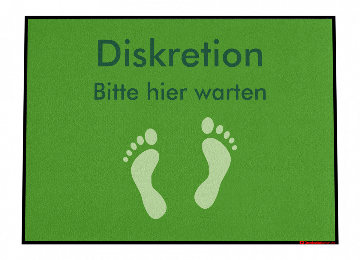 Diskretion_Anmeldung_Abstandhalter_Fußmatte_Dreckstückchen_EntwurfD90x65