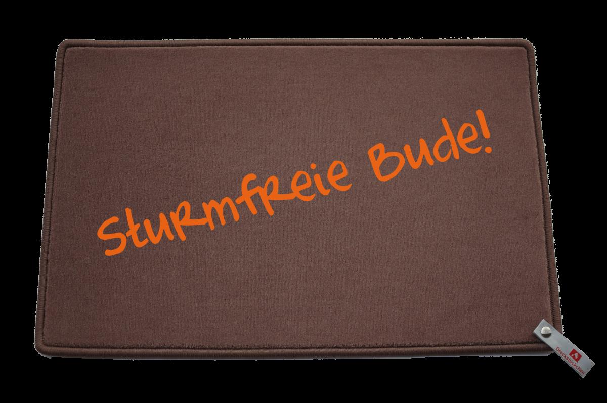 Fußmatte: Dreckstückchen Sturmfreie Bude