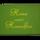Fußmatte: Home sweet Homeoffice Dreckstückchen
