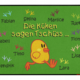 Fußmatte: Kindergarten Abschiedsfussmatte Küken 90x65 Entwurf W