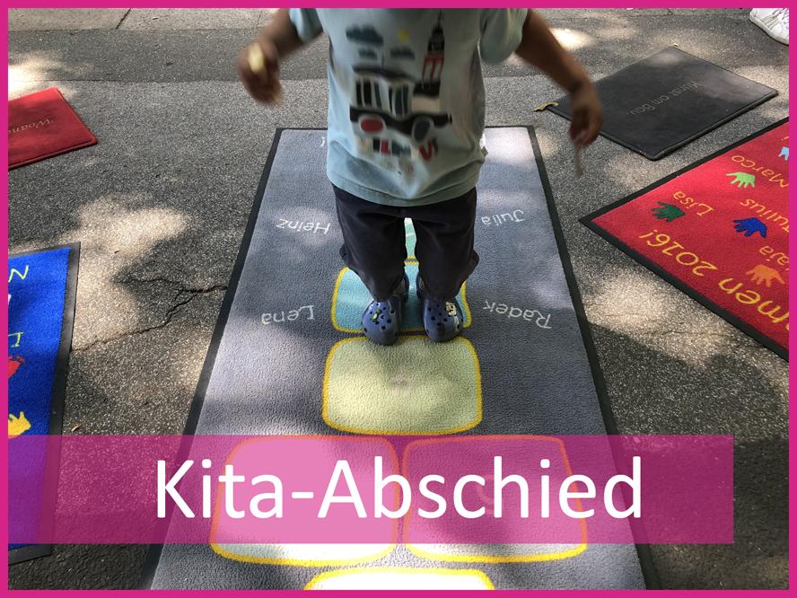 Fußmatten zum Kita-Abschied