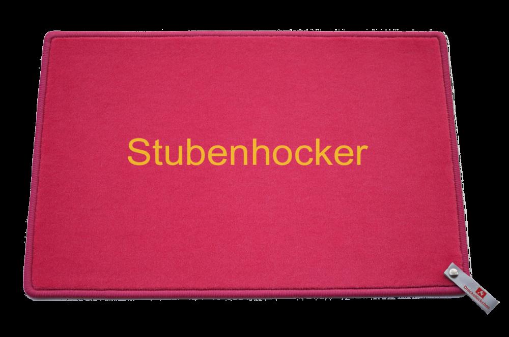 Fußmatte: Stubenhocker Dreckstückchen