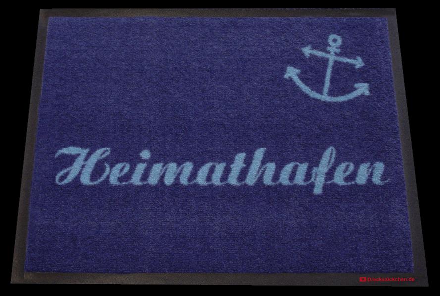 Fußmatte selbst gestalten